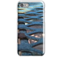 Rusted Wrought Iron Home iPhone Case/Skin