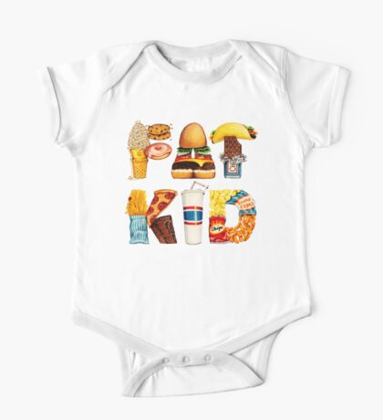 FAT KID One Piece - Short Sleeve