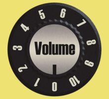 Vintage Volume Knob Kids Tee