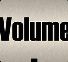 Vintage Volume Knob Sticker