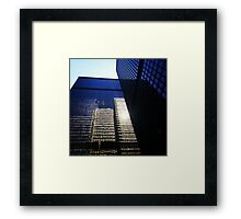 Towering Reflections Framed Print