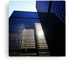 Towering Reflections Canvas Print