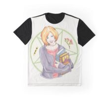 Watercolour Fanart Illustration of Willow Rosenberg from Joss Whedon's Buffy The Vampire Slayer Graphic T-Shirt