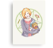 Watercolour Fanart Illustration of Willow Rosenberg from Joss Whedon's Buffy The Vampire Slayer Canvas Print