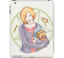 Watercolour Fanart Illustration of Willow Rosenberg from Joss Whedon's Buffy The Vampire Slayer iPad Case/Skin