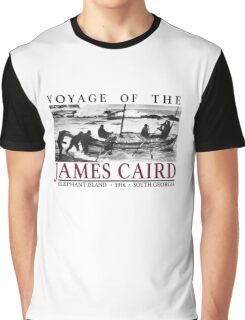 Voyage of the James Caird Graphic T-Shirt