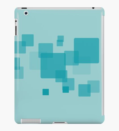 Fresh new pattern modern style rectangles with rounded corners iPad Case/Skin