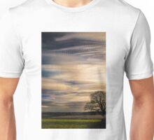 timelapse movement of clouds. Unisex T-Shirt