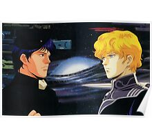 Ginga Eiyuu Densetsu Poster