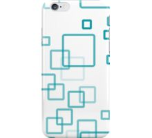 pattern modern style in the form of rectangles with rounded corners iPhone Case/Skin