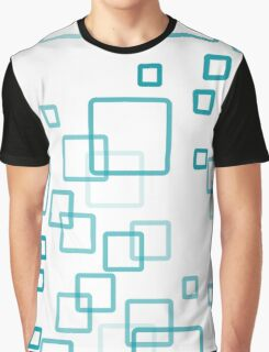 pattern modern style in the form of rectangles with rounded corners Graphic T-Shirt