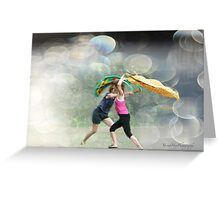 Dancing in the Park Greeting Card