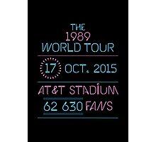17th October - AT&T Stadium Photographic Print