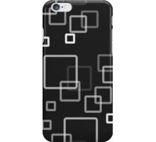 pattern modern style of rectangles iPhone Case/Skin