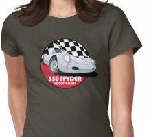 Porsche 550 Spyder Womens Fitted T-Shirt