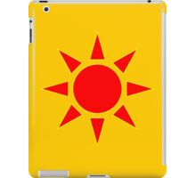 Red Sun iPad Case/Skin