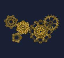 Woven Clockwork Kids Tee