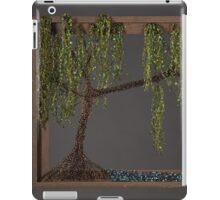 Spring Willow Tree - Dark iPad Case/Skin
