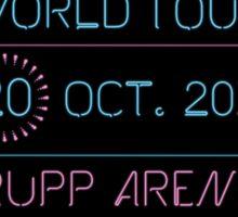 20th October - Rupp Arena Sticker