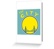 Golden_State_Warriors_Retro Greeting Card