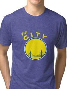 Golden_State_Warriors_Retro Tri-blend T-Shirt