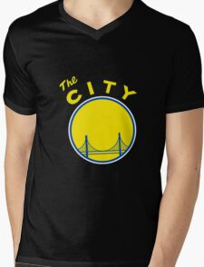 Golden_State_Warriors_Retro Mens V-Neck T-Shirt