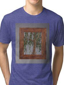 Summer Willow Tree - Dark Tri-blend T-Shirt