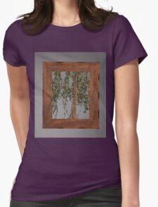 Summer Willow Tree - Dark Womens Fitted T-Shirt