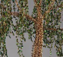 Summer Willow Tree - Dark Sticker