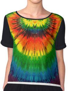 Tie-Dye Shirt and Merchandise Chiffon Top