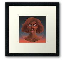 Starry Eyed - Square Framed Print