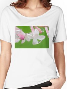 Lilac Blossom Macro Women's Relaxed Fit T-Shirt