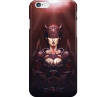 Bloodmoon Blademaster iPhone Case/Skin