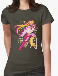 Soldier of Love and Justice Womens Fitted T-Shirt