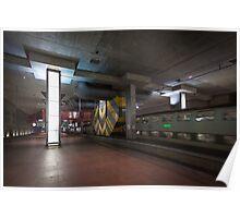 Antwerp Central Station Underground Poster