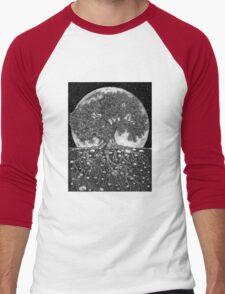 Above and Below Men's Baseball ¾ T-Shirt