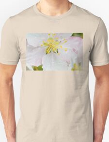 Apple Blossom Macro Unisex T-Shirt