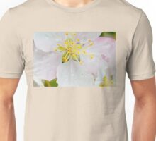 Apple Blossom Macro Unisex T-Shirt
