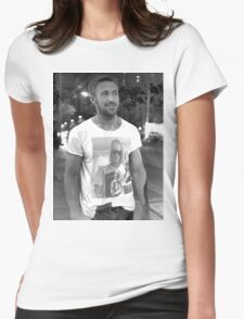 Ryan Gosling Macaulay Culkin Shirt Womens Fitted T-Shirt