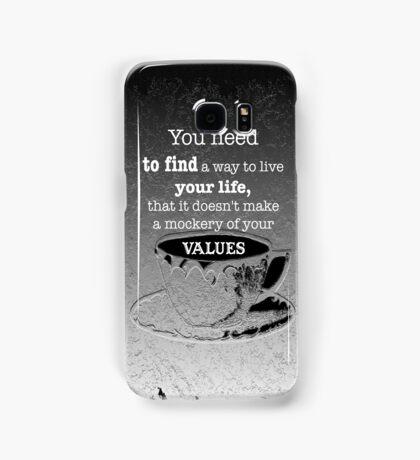 VALUES Samsung Galaxy Case/Skin
