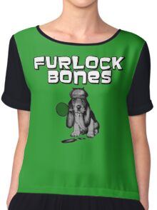 Archer - Furlock Bones Chiffon Top