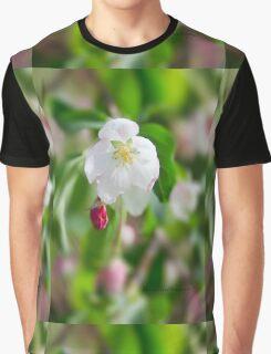 Crab Apple Flowers Graphic T-Shirt