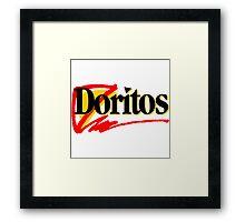 90s Chips Framed Print