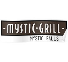 Mystic Grill - The Vampire Diaries Poster