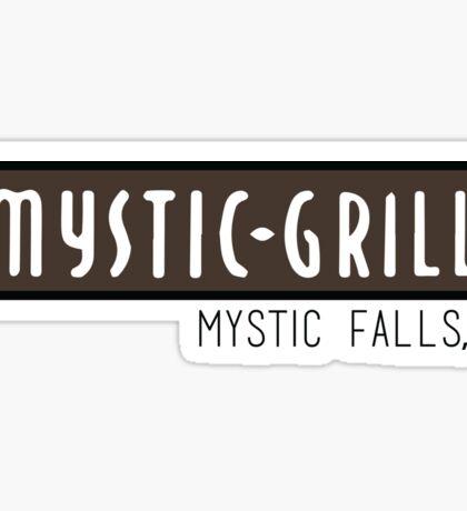 Mystic Grill - The Vampire Diaries Sticker