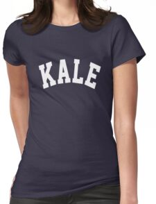 Kale Womens Fitted T-Shirt