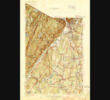 USGS TOPO Map New Jersey NJ Ramsey 255069 1945 31680 Unisex T-Shirt