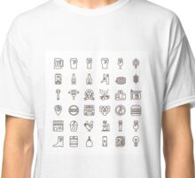 Craft Beer Icons Classic T-Shirt