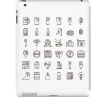 Craft Beer Icons iPad Case/Skin