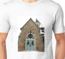 Old church of Milton, Ontario, Canada  Unisex T-Shirt